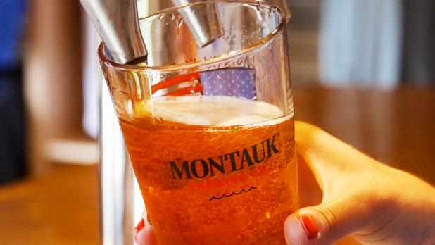 Montauk Brewing Company draft beer