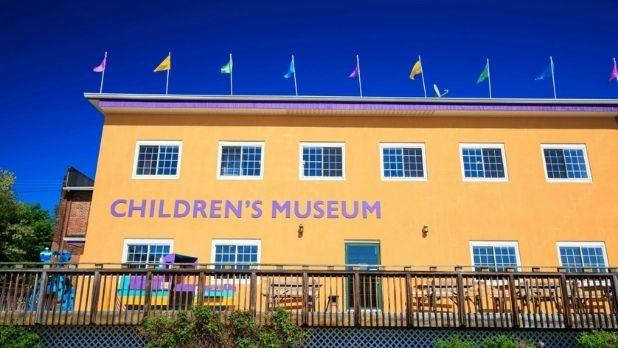 Exterior of Mid-Hudson Children's Museum
