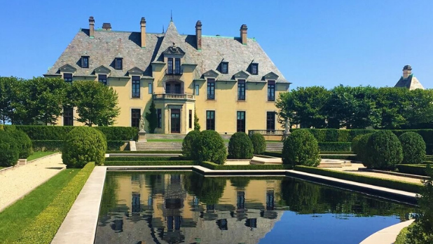 A picture of Oheka Castle in Long Island