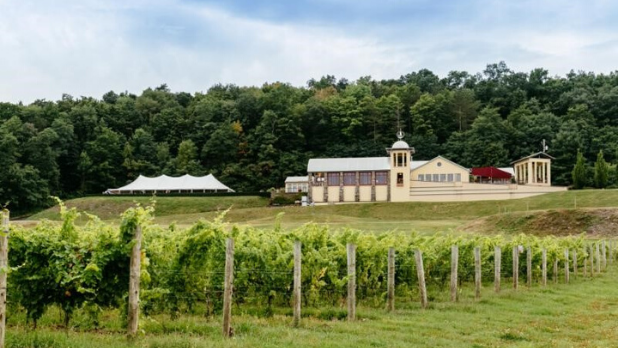 A photo of the exterior of Heron Hill Winery