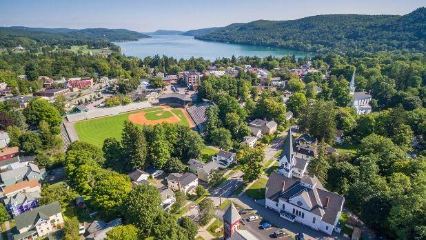 Cooperstown Aerial View; Photo Courtesy of ThisIsCooperstown.com