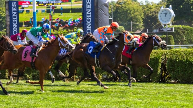 Travers Stakes At Saratoga Race Course in New York