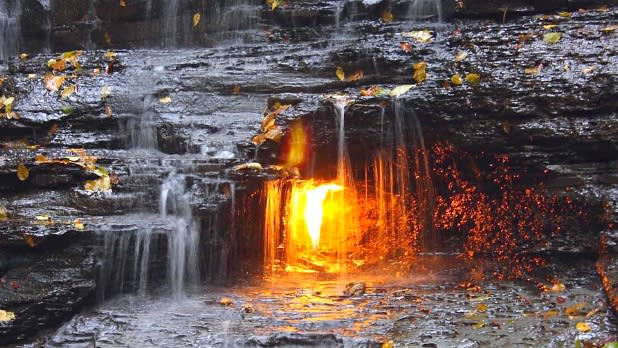 Eternal flame at chestnut ridge_Bob Lennartz