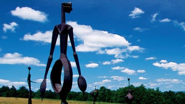 Sculptures at Griffis Sculpture Park