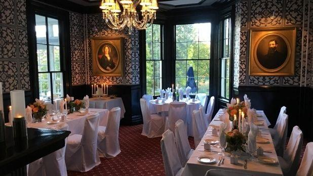 The Inn at Taughannock dining room