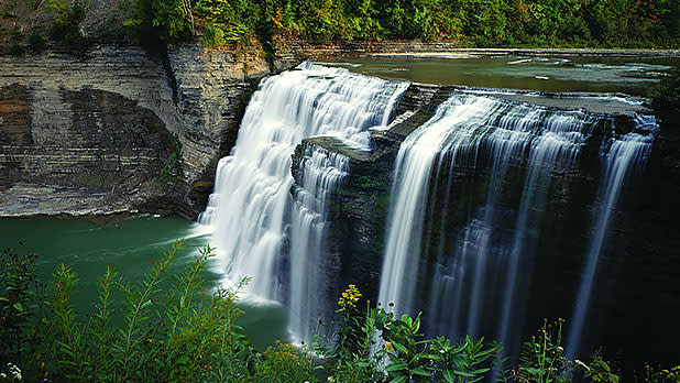 Letchworth State Park, Castile - Photo by NYS ESD