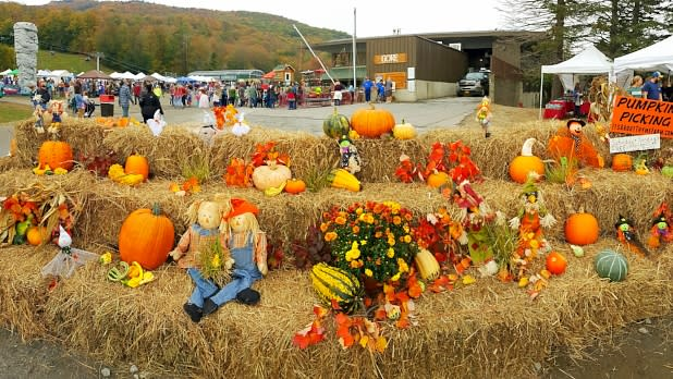 Crowd at Gore Mountain Harvest Festival