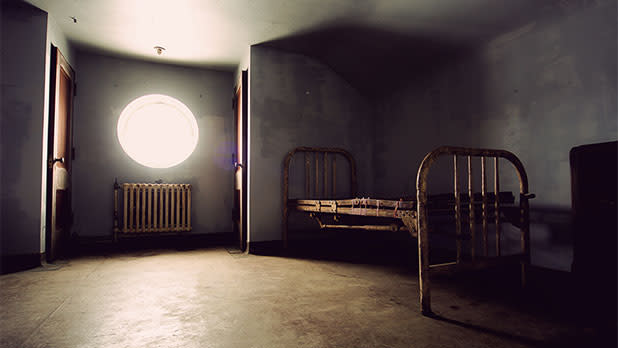 Room at Rolling Hills Asylum