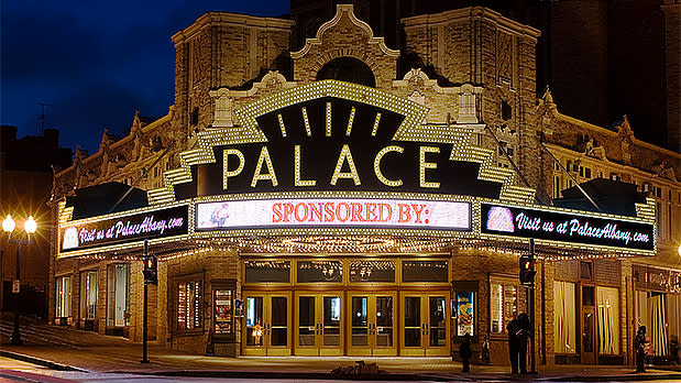 Exterior of the Palace Theater