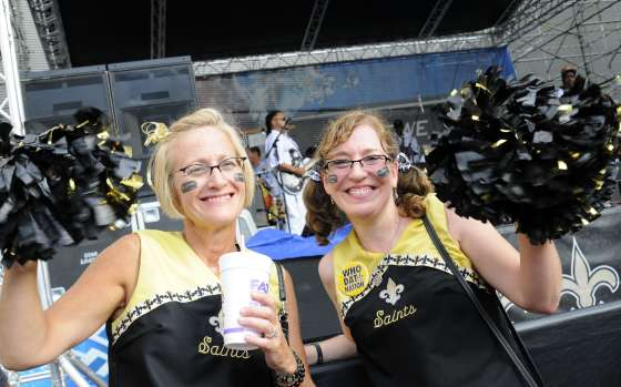 Who Dat Nation Rally and Music Festival