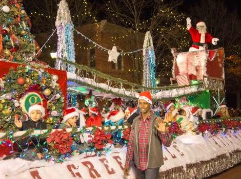 Greenville Sc Christmas Parade 2020 Greenville Poinsettia Christmas Parade