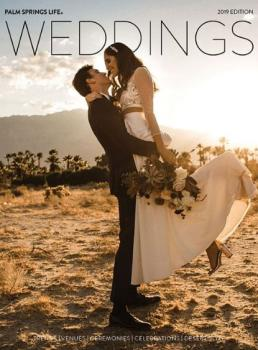 Palm Springs Life Weddings Cover 2019