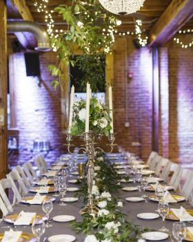 Wedding Reception Table | ErikaBrownPhotography.com