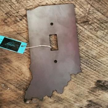 Indiana light switch cover (photo courtesy of Tiffany's Boutique Facebook page)