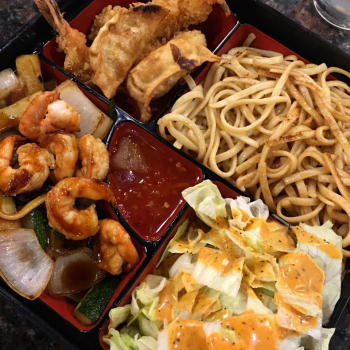 Bento Box at Sake Sushi Bar
