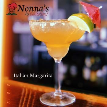 Nonna's, italian margarita, cocktails