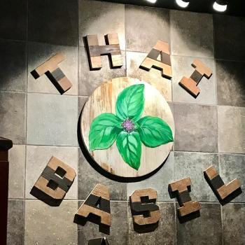 Thai Basil sign