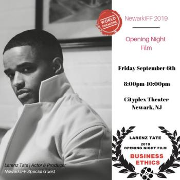 Larenz Tate – NIFF Opening Night