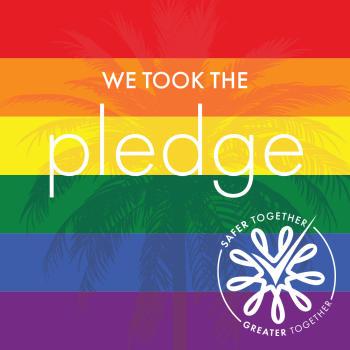 LGBTQ Pledge Graphic - Square