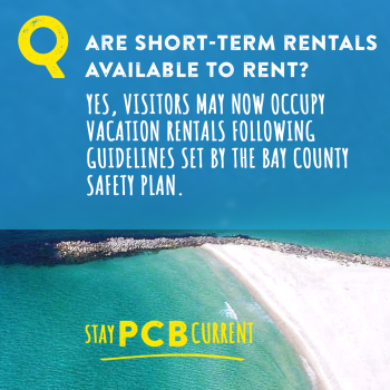 Stay PCB Current vacation rentals open