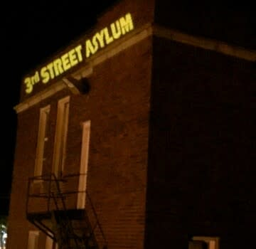 Outside of 3rd Street Asylum