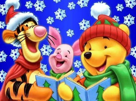 Winnie The Pooh Christmas.A Winnie The Pooh Christmas Tail