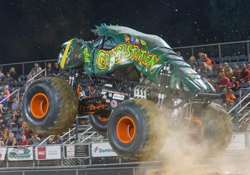 GALOT Monster Truck event held near Benson, NC.