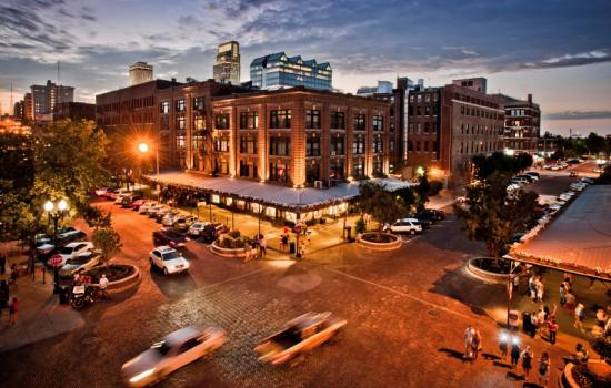 The Old Market Entertainment District is a perfect backdrop for a rustic Omaha date night