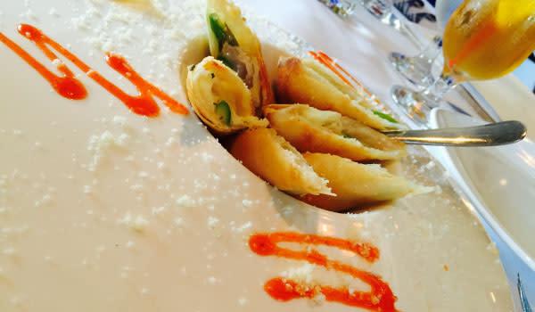 Asparagus Avocado Crispy Rolls