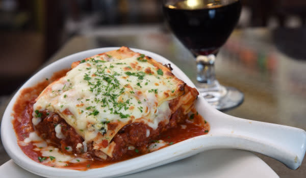 Cafe Borgia lasagna