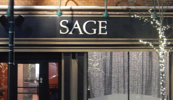 Sage Restaurant exterior