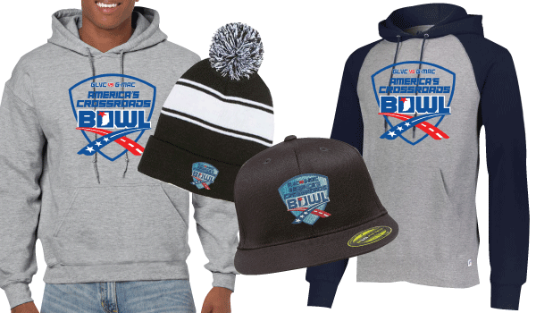 America's Crossroads Bowl Fan Wear