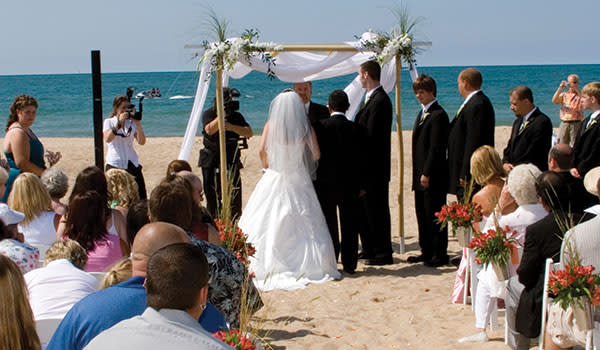 Beach Wedding Marquette Park Gary