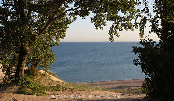 Morning at Mt. Baldy - NPS Indiana Dunes
