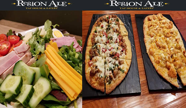 Region Ale Flatbreads