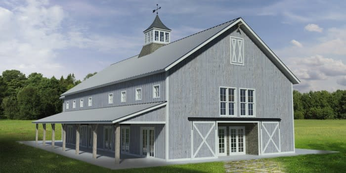 Barn at Chapel Hill rendering