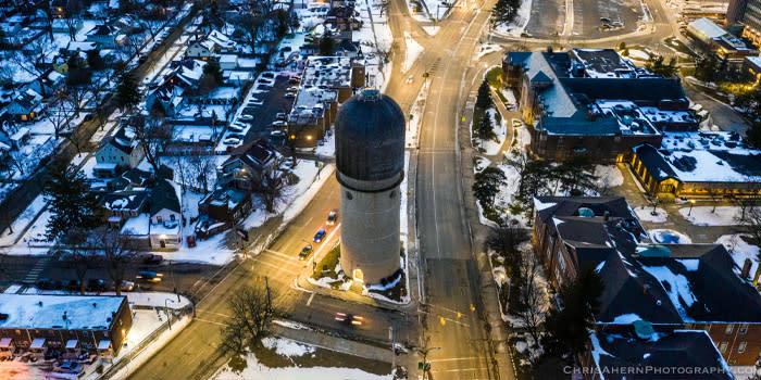 Ypsilanti's Water Tower