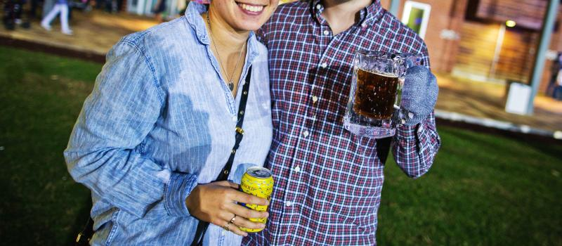 Beer Steins at Discovery Green's Frostival