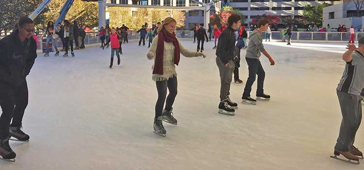 Ice Skating in Kansas City at the Crown Center Ice Terrace