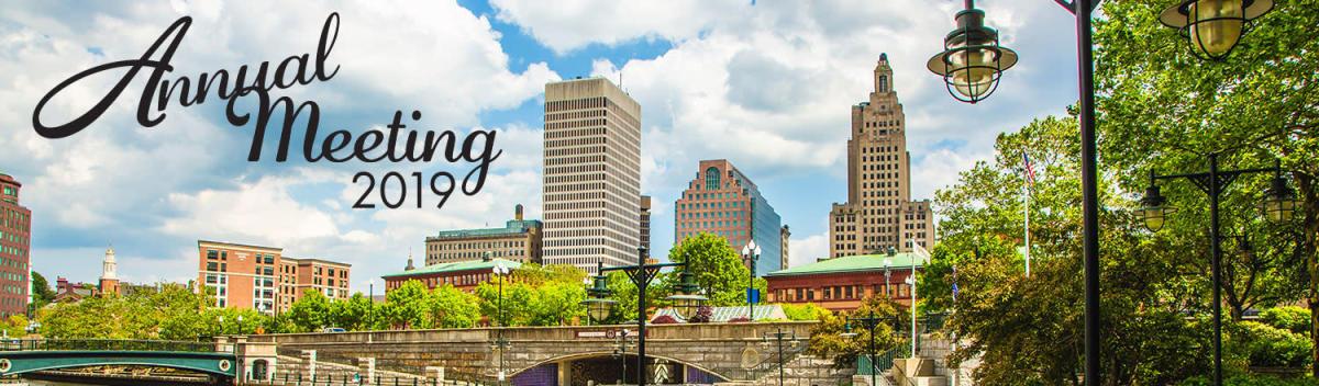 Annual Meeting 2019 banner