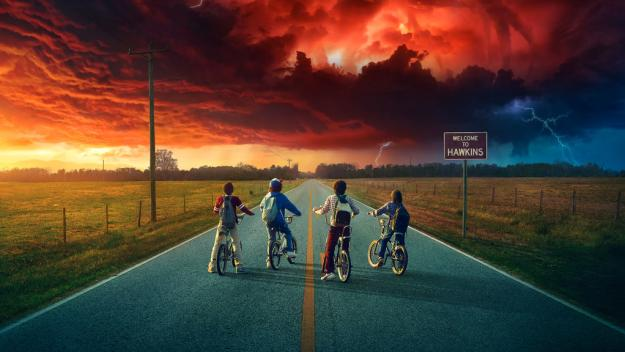 Stranger Things via Netflix
