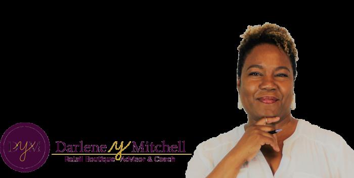 Darlene Y Mitchell - Retail Boutique Advisor & Coach - Bio Photo w/ logo