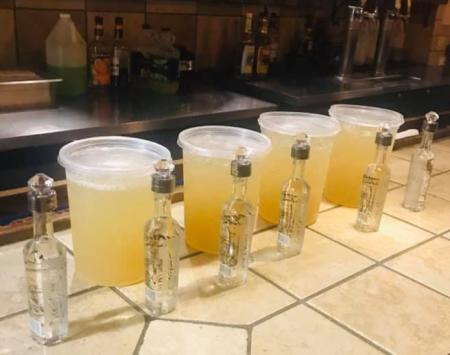 The Toros Mexican Bar & Grill margaritas to go