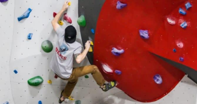 Bliss Bouldering Wall Climbing