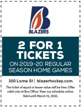 blazers hockey