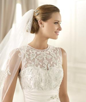 Wedding Gown with Irish Lace