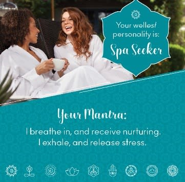 Spa Seeker wellness mantra