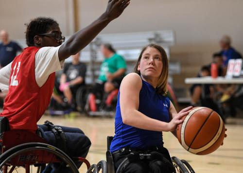 Endeavor Games Athlete Wheelchair Basketball