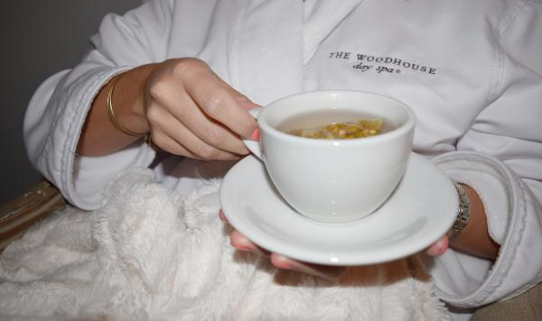 Woodhouse Day Spa Robe and Tea