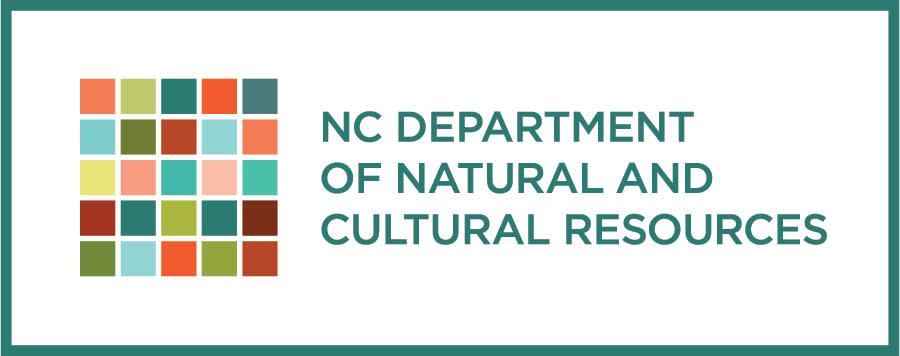 NC Department of Cultural Resources logo, Raleigh, NC.